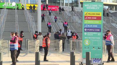In Inghilterra riaprono gli stadi: 4.000 persone a Wembley per la Fa Cup
