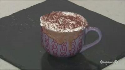 Mug cake ricotta e cioccolato fondente