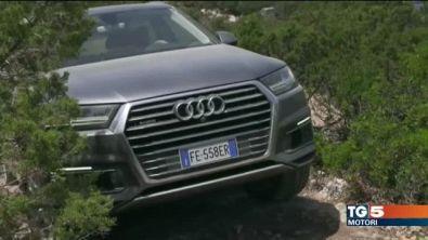 L'Audi Q7 e-tron e la nuova Tiguan