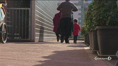 Bambini in cerca di asilo