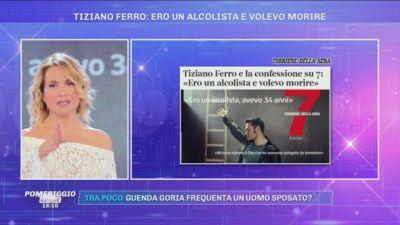 La confessione di Tiziano Ferro