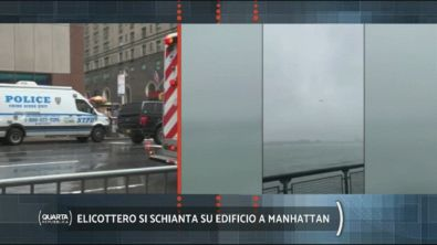 Terribile incidente a Manhattan