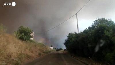 Sfollati per roghi in Sardegna,in fumo 20mila ettari