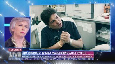 """""""Ho ordinato 10 mila mascherine dalla Pivetti"""""""