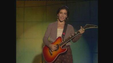 """Paola Turci canta """"Siamo gli eroi"""" a Superclassifica Show 1989"""