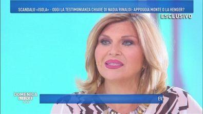 Nadia Rinaldi attacca l'ex marito