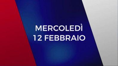 Stasera in Tv sulle reti Mediaset, 12 febbraio