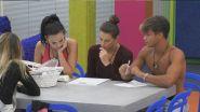Adua Del Vesco e Dayane Mello in difficoltà