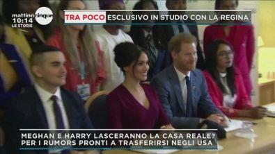 Harry e Meghan vogliono lasciare la Casa Reale?