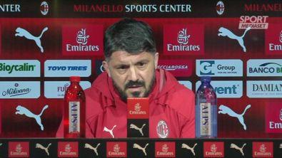 """Gattuso: """"La formazione la fa mia moglie"""""""