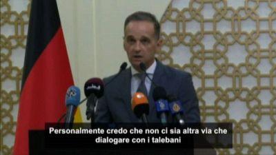Ministro tedesco Maas: non c'è altra via che dialogo con talebani