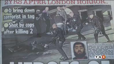 Il jihadista armato sul Ponte di Londra