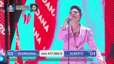 Alberto vs Giordana - La finalissima - II esibizione