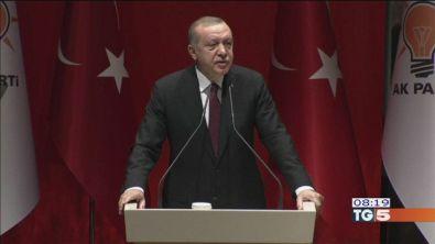 Erdogan dal Papa proteste dei curdi