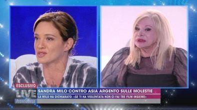 Sandra Milo contro Asia Argento sulle molestie