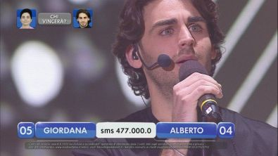 Alberto vs Giordana - La finalissima - IX esibizione