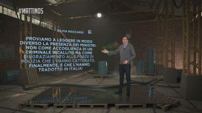E' atterrato in Italia Cesare Battisti