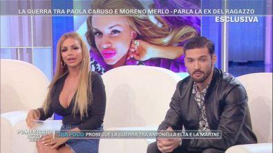 La guerra tra Paola Caruso e Moreno Merlo, parla Veronica Graf, la ex di Moreno