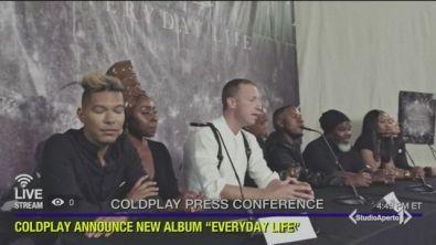 Coldplay, un concerto speciale