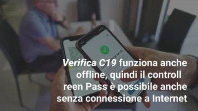 Green Pass obbligatorio: come usare l'app Verifica C19