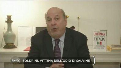 Boldrini, vittima dell'odio di Salvini?