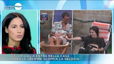 GF Vip: Giulia vs le Mosetti