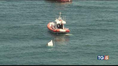Barca affonda in Sardegna