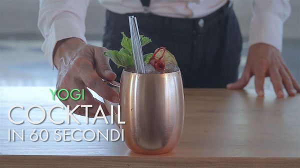 Cocktail in 60 secondi: Yogi