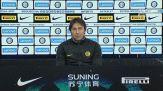 "Conte: ""Contro l'Udinese necessario confermarsi"""