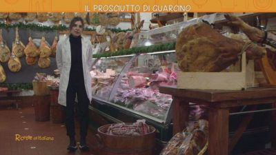 Il prosciutto di Guarcino