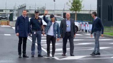 Inter, è arrivato Sanchez: le prime immagini