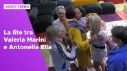 La violenta lite tra Valeria Marini e Antonella Elia