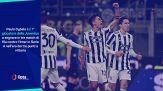 Inter-Juventus 1-1: i numeri del match