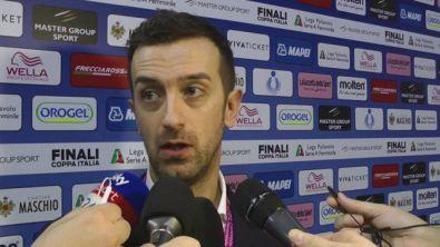 """Santarelli: """"Vittoria non scontata su un campo difficile"""""""