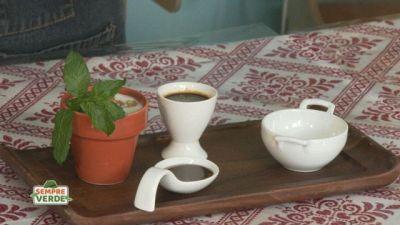 Un piatto di alta caffetteria