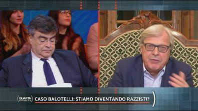 """""""Non c'è razzismo in Italia"""", l'opinione di Vittorio Sgarbi"""