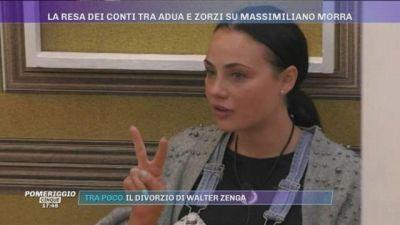 GFVIP - La resa dei conti tra Adua e Zorzi su Massimiliano Morra