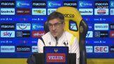 """Juric: """"Con il Bologna sarà una partita dura"""""""