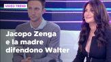 Jacopo Zenga e la madre difendono Walter Zenga