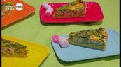 Quiche di salmone e spinacini