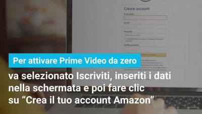 Come attivare Amazon Prime Video