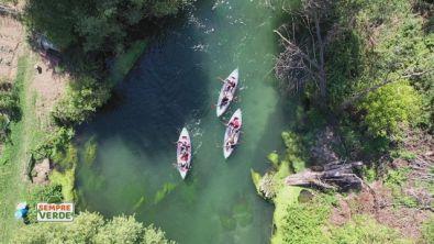 In canoa sul Tirino