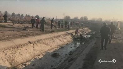 Disastro aereo, 176 morti in Iran