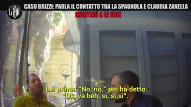 Martedì a Le Iene: Caso Brizzi, parla il contatto tra la spagnola e Claudia Zanella