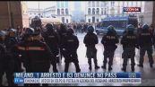 Breaking News delle 17.00 | Milano, 1 arresto e 83 denunce no pass