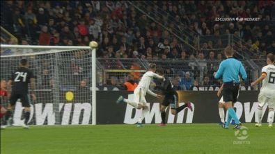 Germania-Argentina 2-1: il gol di Alario