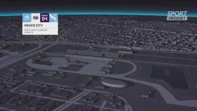 Città del Messico, animazione virtuale della pista