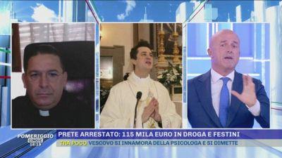 Droga e festini: parroco arrestato. La sorella ha scritto a Pomeriggio Cinque