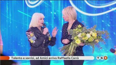 Raffaella Carrà ad Amici