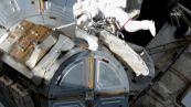 La spettacolare passeggiata nello spazio